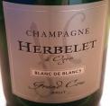 Champagne Herbelet Blanc de Blancs Brut