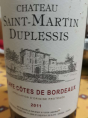 Château Saint-Martin Duplessis