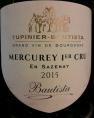 Mercurey Premier Cru En Sazenay