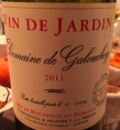 Vin de Jardin - Domaine de Galouchey
