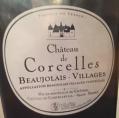 Château de Corcelles  Beaujolais-Villages