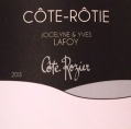 """Côte-Rôtie - Cuvée """"Côte Rozier"""""""