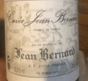 Cuvée Jean Bernard