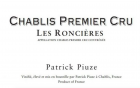 CHABLIS 1er cru LES RONCIERES