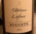 Château Lafoux Auguste