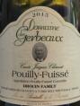 Pouilly Fuissé Cuvée Jacques Charvet