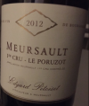 Meursault 1er Cru - Le Poruzot
