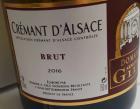 Crémant d'Alsace Brut.