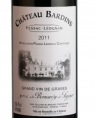 Château BARDINS Pessac Léognan