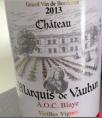 Blaye Vieilles Vignes Merlot