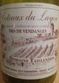 Coteaux du Layon Tris de Vendanges