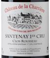 Château de la Charrière - Clos Rousseau - Santenay 1er cru
