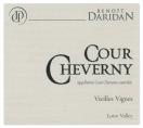 AOC COUR-CHEVERNY VIEILLES VIGNES ELEVET EN FUT DE CHENE