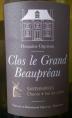 Clos le Grand Beaupréau