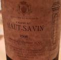 Château Haut-Savin