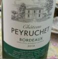 Château Peyruchet Bordeaux