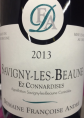 Savigny-Lès-Beaune Premier Cru - Ez Connardises