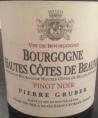 Bourgogne Hautes-Côtes-de-Beaune