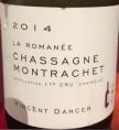 La Roman&e Chassagne Montrachet