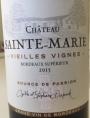 Vieilles Vignes Bordeaux Supérieur