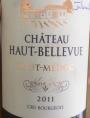 Château Haut-Bellevue Cru Bourgeois