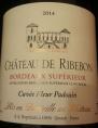 Château de Ribebon - Cuvée Fleur Padouin