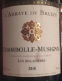 Chambolle-Musigny - Les Maladières