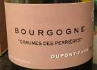 Bourgogne Chaume des Perrières
