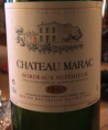 Château Marac Bordeaux Supérieur