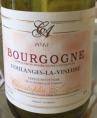 Bourgogne Coulanges la Vineuse