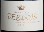 GRAND VIN LES VERDOTS SELON DAVID FOURTOUT