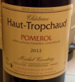 Château Haut-Tropchaud Pomerol