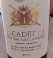 Le Cadet du Château La Claymore
