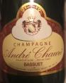 Champagne André Chauré
