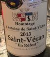 Hommage à Antoine de Saint-Victor