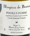 Pouilly-Fuissé - Cuvée Francoise Poisard