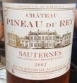 Château Pineau du Rey Sauternes