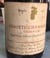 Griotte Chambertin Grand Cru