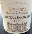 Cuvée Spéciale du Marquis de Mauvesin