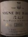 vigne du baron