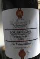 Bourgogne Pinot Noir Les Buissardières