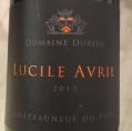 Châteauneuf-du-Pape Lucille Avril