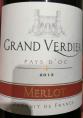 Le Merlot Grand Verdier