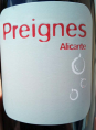 Preignes Alicante