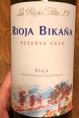 Rioja Bikana Reserva