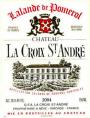 Château LA CROIX ST ANDRE