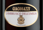 Giacobazzi Lambrusco rouge