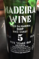 Madeira Wine 5 years old