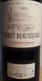 Paret Beausejour - Côtes de Castillon