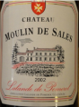 Château Moulin de Sales